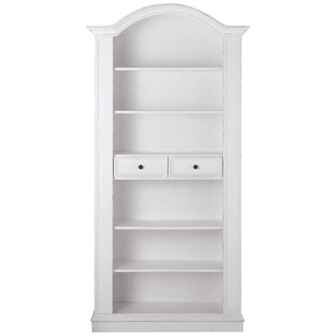 white bookcase with storage home decorators collection montego white open bookcase