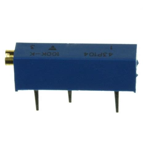 vishay trimmer resistor vishay trimmer resistor 28 images m43p204kb40 vishay spectrol potentiometers variable