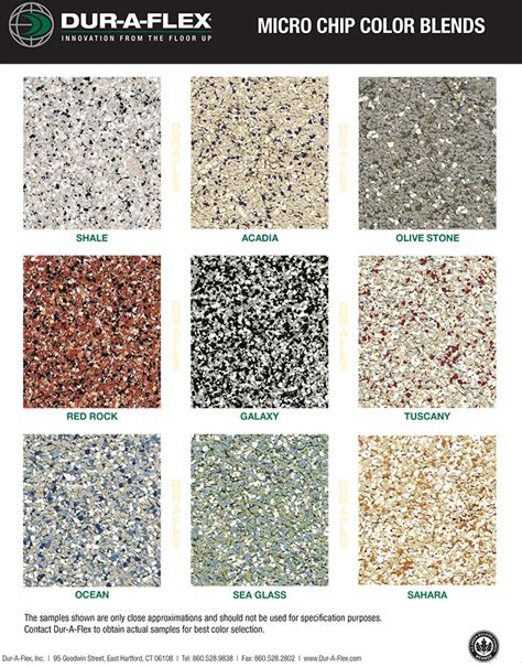 epoxy colors epoxy flooring colors click a color to see an enlarged