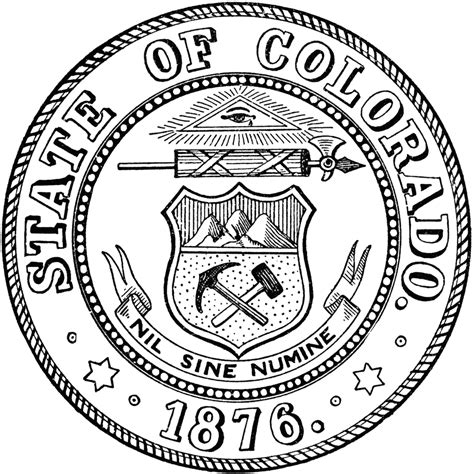 texas state seal coloring page coloring pages