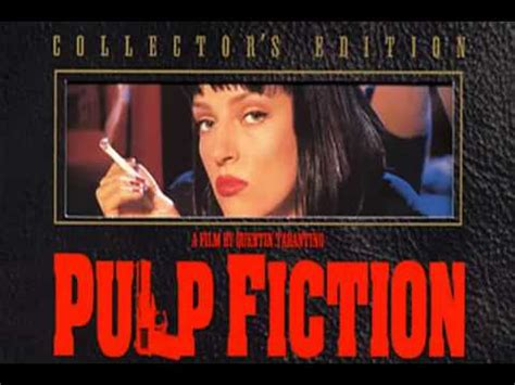 theme song pulp fiction pulp fiction soundtrack opening theme dick dale and his