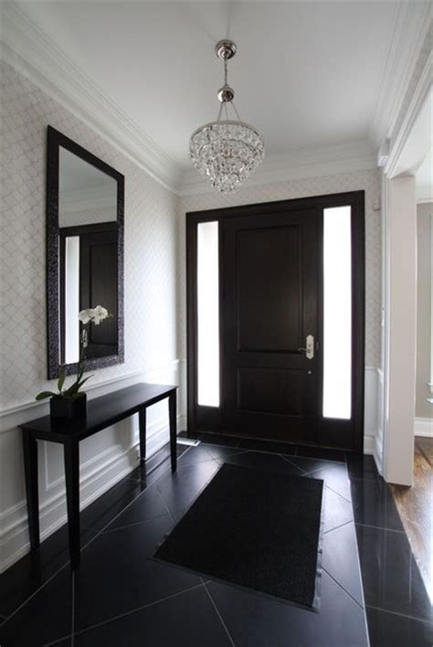 Houzz Foyer foyer contemporary entry toronto by jodie design