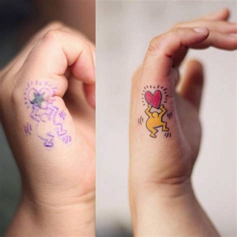 full right hand tattoo 1000 images about keith haring on pinterest first
