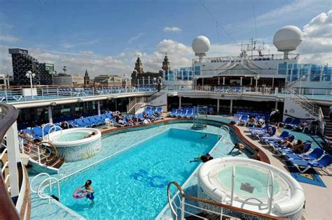princess cruises from liverpool see inside the caribbean princess cruise ship which is