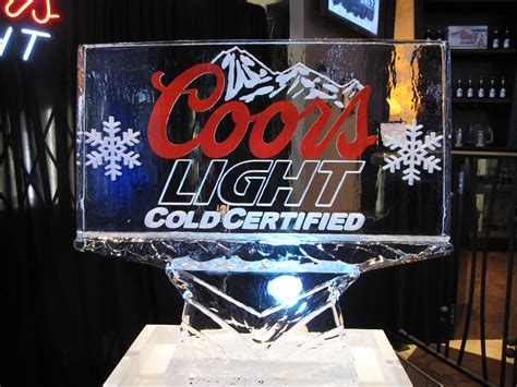 coors light phone number coors light cool creations sculptures