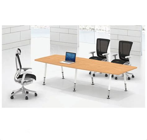 Boat Shaped Meeting Table Conference Table Decor Viz System