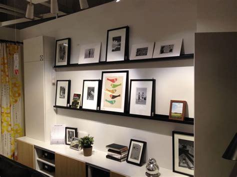 picture rail ikea ikea picture rail with ribba frames home sweet home