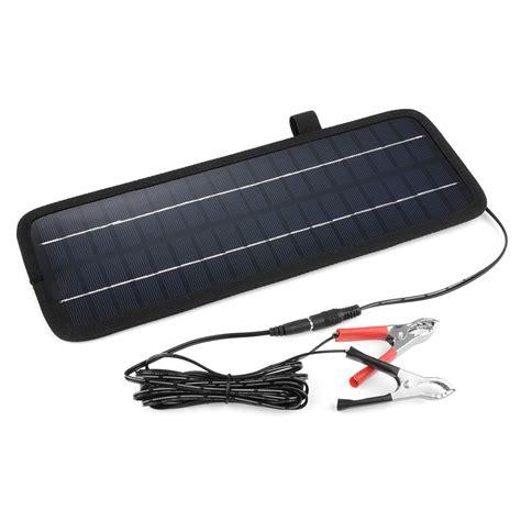 boat battery trickle charger 4 5w 12v smart solar panal trickle power battery charger