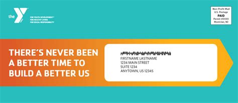 Ymca Appeal Letter Nonprofit Outer Envelope Design Ideas Great Exles