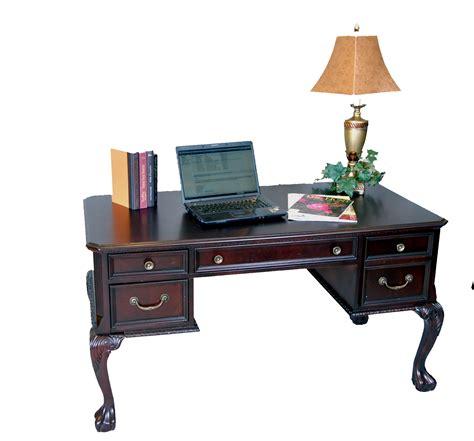 3 piece office desk 3 piece dark cherry executive office desk set ebay