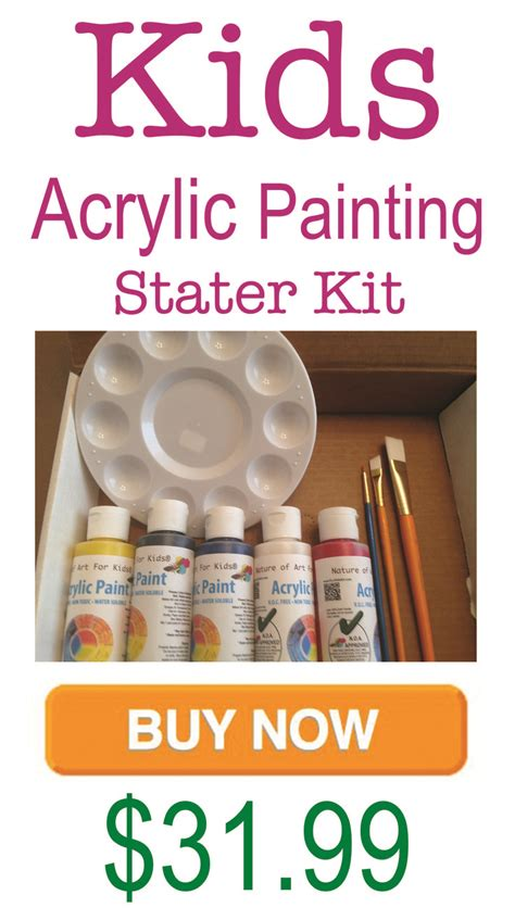 acrylic paint kid safe how to teach acrylic canvas painting to children child