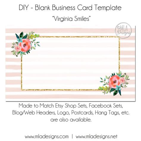 blank sunflower business card template floral business card template virginia smiles floral