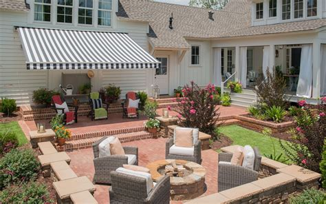 yard awnings custom outdoor awnings paradise outdoor kitchens