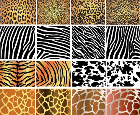 pattern matching in ai animal skin texture vector background free vector 4vector