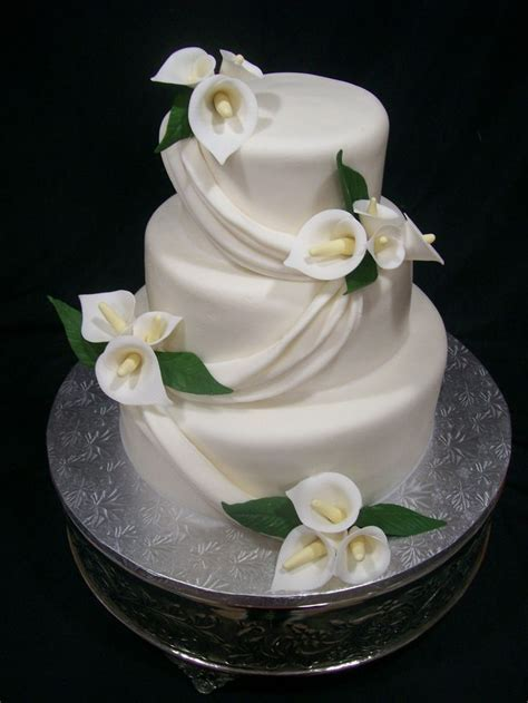 calla lily cake   Calla lily Wedding Cake Ideas