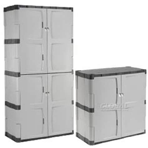 Plastic Garage Cabinets   Floor & Wall Storage Cabinet Systems