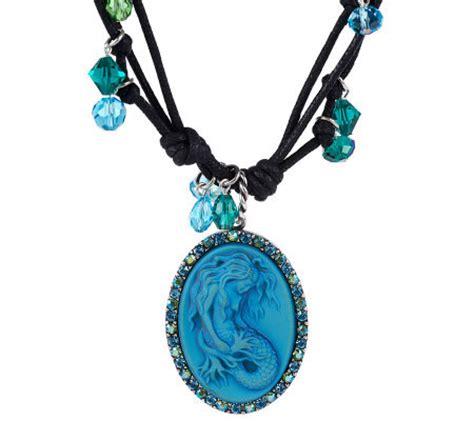 kirks folly mermaid magic necklace page 1 qvc