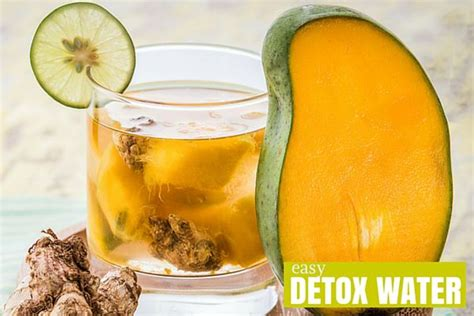 Mango And Lemon Detox Water mango and detox water easy detox water