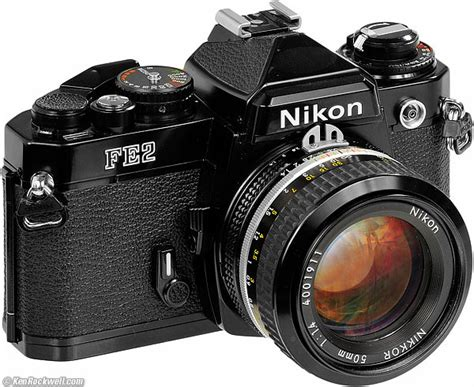 recommended nikon film camera nikon fe2 review