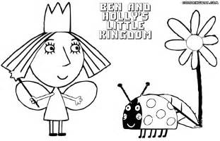Ben And Holly Coloring Pages  To Download Print sketch template