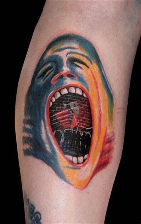 pink floyd tattoo by brbonca on deviantart