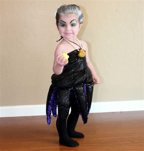 Dress Kid Ursula Polka custom baby ursula costume ursula littlemermaid kid babies and pull it