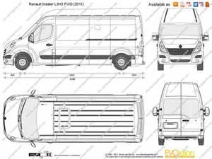 Renault Master Dimensions Renault Master H2l2 Dimensions Crafts
