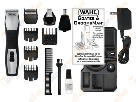 wahls groomsman pro all in one rechargeable grooming kit shaveroutlet com shaveroutlet com wahl groomsman pro