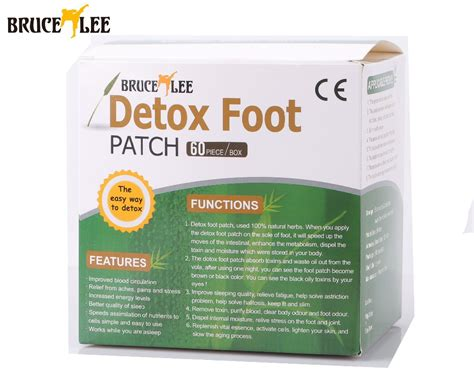 Bamboo Vinegar Detox Patch by 120 Bruce Detox Foot Patch Bamboo Vinegar Pads