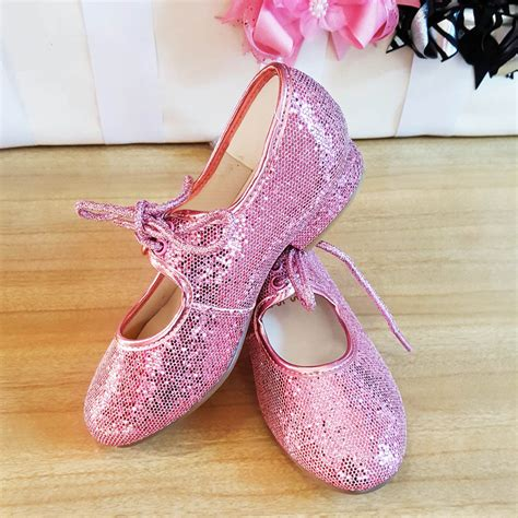 pink glitter shoes for pink glitter low heel tap shoes dancewear universe