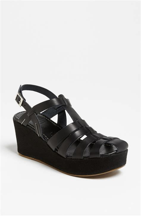 shoes bc bc footwear next in line sandal in black lyst