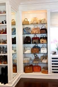 Bag Closet by Handbag Storage Ideas