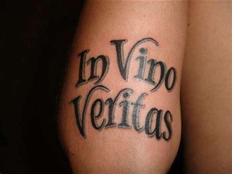 veritas tattoo designs in vino veritas awesome tattoos