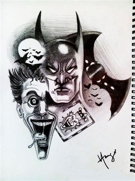 cool batman joker drawings www imgkid image kid