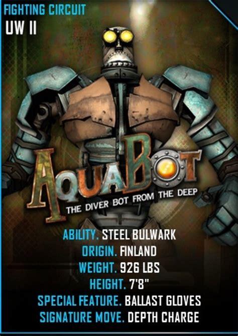 Name Set Suka 2 Player Name Set All Leaguenama No Punggung image aquabot card jpeg real steel wiki fandom