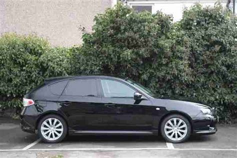subaru hatchback 2 door subaru 2007 impreza 2 0 rx 5 door hatchback black car for