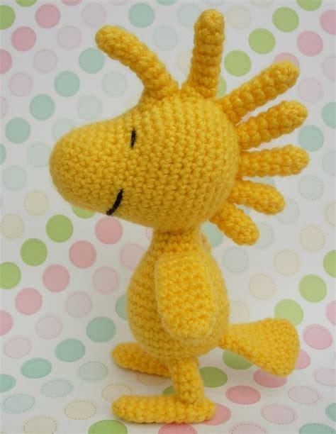 amigurumi woodstock pattern free woodstock crochet doll d i y snoopy pinterest