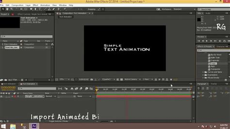 basic text animation after effects tamil tutorial youtube simple text animation tutorial in after effects youtube
