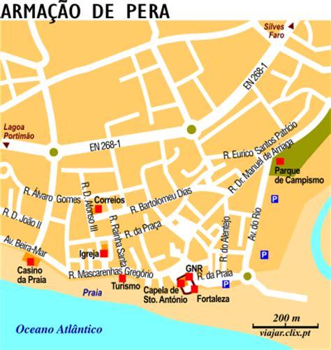 Porches Algarve Map by Gvpthg Silves
