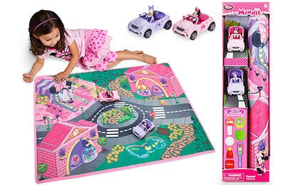 minnie mouse playmat cars play set 5 99 orig 20