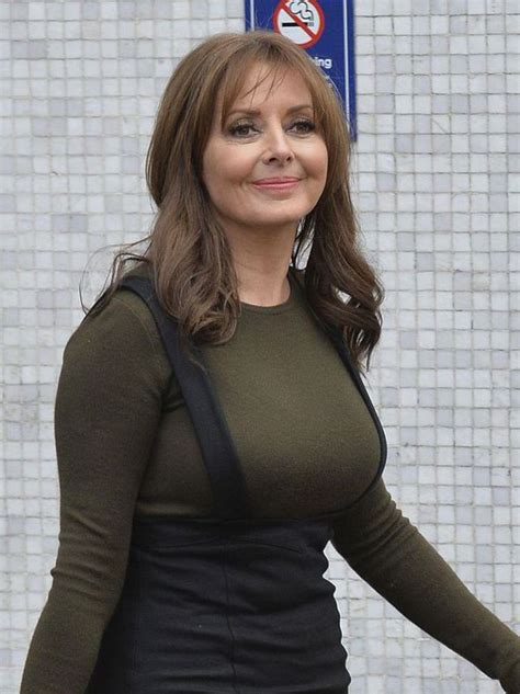 carol vorderman shows   curves  chic outfit