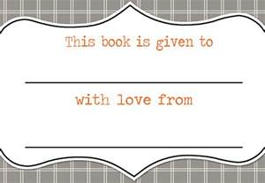 Free Printable Bookplates Templates lil mop top printable bookplates freebies
