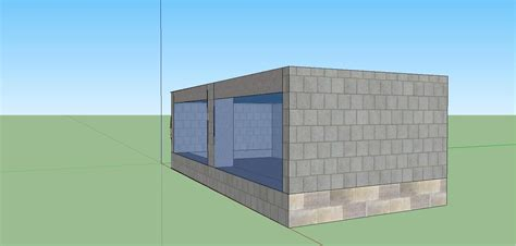 cinder block garage plans side view off the 10 000 cinder block fish tank by