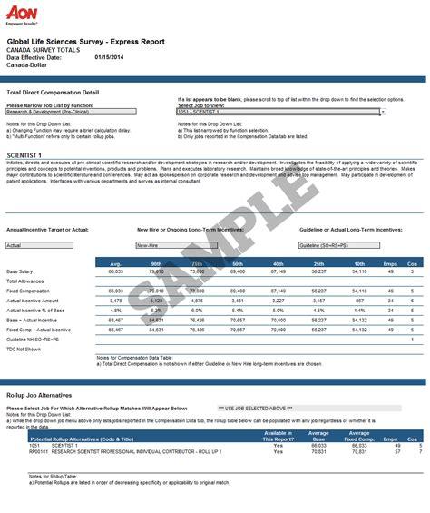 salary survey report template compensation survey template hvac cover letter sle