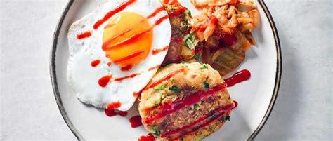 vegetarian and squeak recipe and squeak recipe with kimchi olive magazine