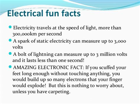 facts about electricity circuits rolly s electrical townsville presentation august 2013