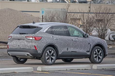 Ford Production 2020 by 2020 Ford Escape Kuga Spied With Production Is A