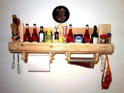 étagère En Palette by De Faire Table Cuisine Inspiration