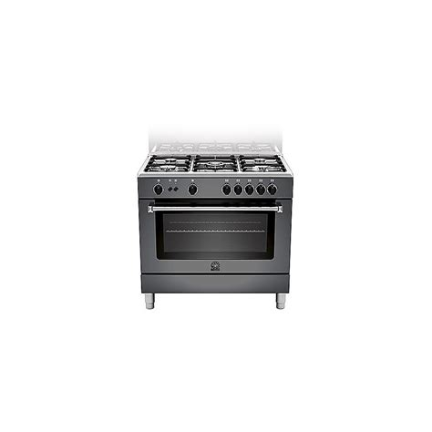 cucina germania cucina la germania am95c71cne 90x60 nera 5 fuochi forno a