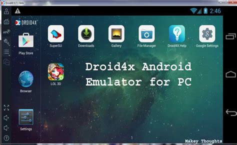 Android Emulator For Windows by Top 5 Best Android Emulators For Pc On Windows 10 8 8 1 7